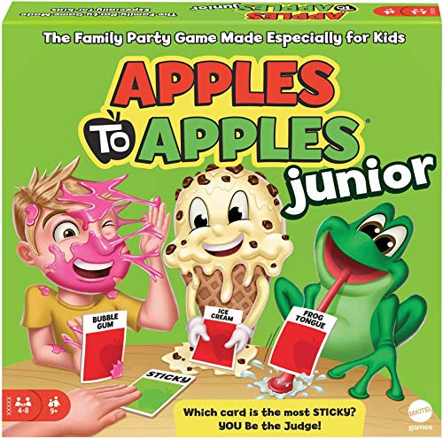 (Amazon) Apples to Apples Junior the Game of Crazy Comparisons! [Packaging May Vary]