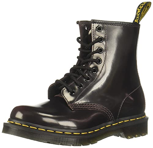 (Amazon) Dr. Martens Womens 1460W Originals Eight-Eye Lace-Up Boot, Cherry Red, 7 M US/5 UK