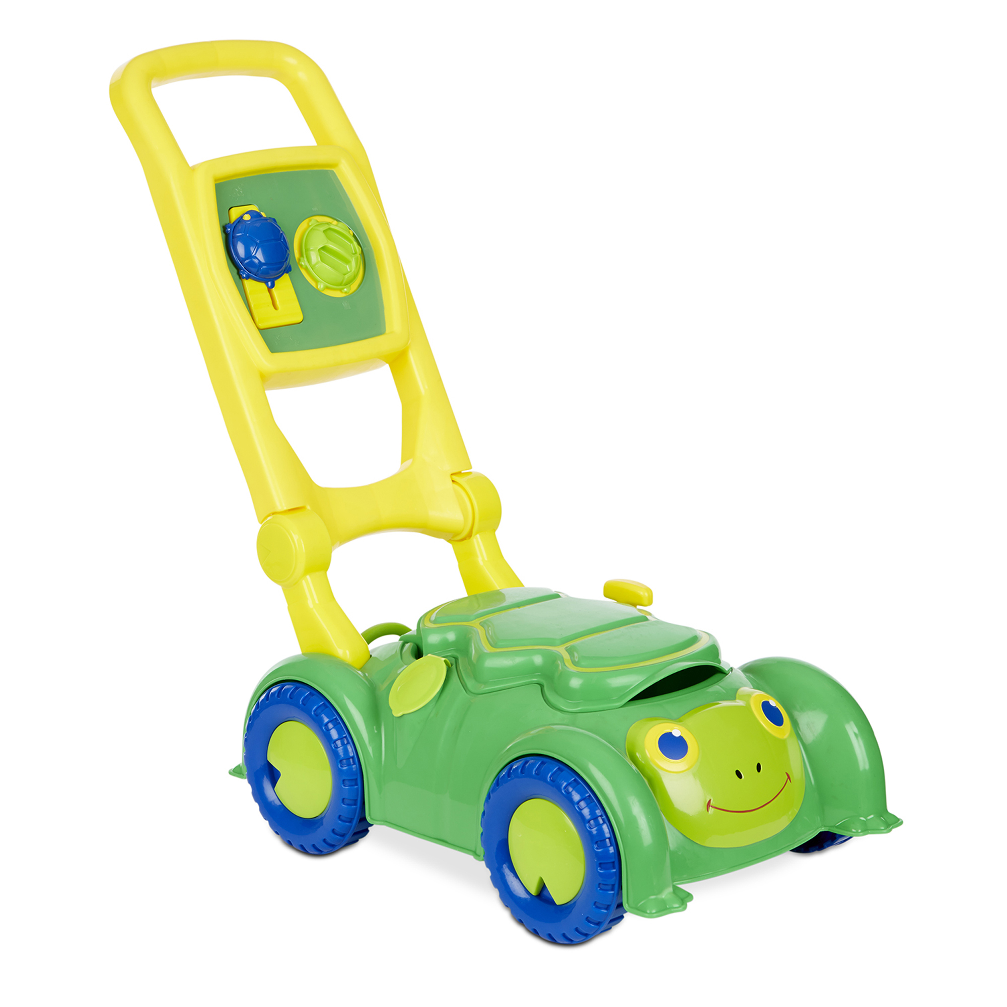 Melissa & Doug Sunny Patch Snappy Turtle Lawn Mower – Pretend Play Toy for Kids (Walmart)