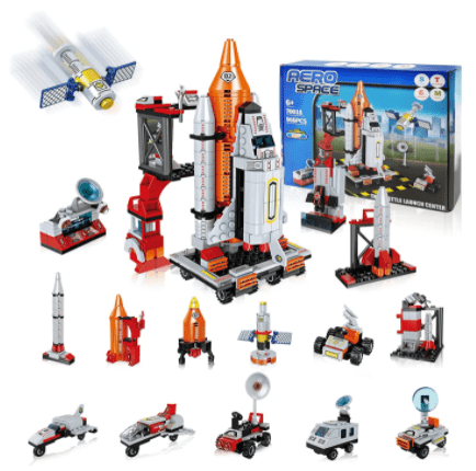 Amazon: 13 in 1 Space Toy Building Kit (566Pcs) for $13.99 (Reg. $27.99)