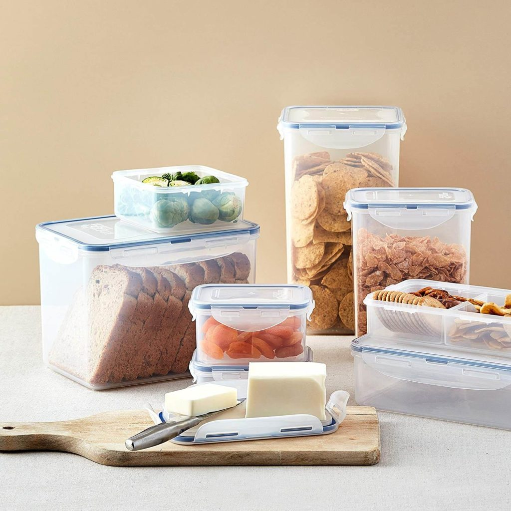 Amazon: 36 Piece LOCK & LOCK Food Storage Lids/Airtight Containers for $25.99 (Reg. $39.99)