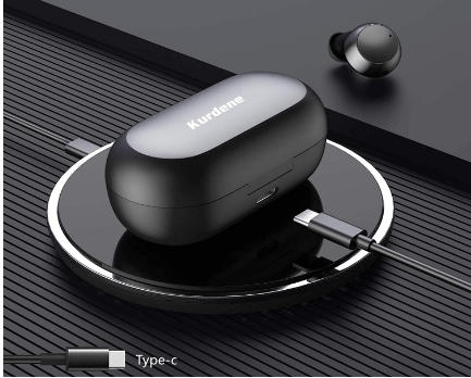 Amazon: Bluetooth Earbuds with Wireless Charging case $7.84 (Reg $28)