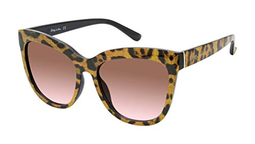 (Amazon) Circus by Sam Edelman CC483 Oversized UV Protective Women's Cat Eye Sunglasses. Trend-Right Gifts for Women, 72 mm