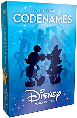 (Amazon) Codenames Disney Family Edition | Best Family Board Game, Great Game for All Ages | Featuring Disney Characters, Disney Artwork | Board Game for 2 Players or More | Perfect for Disney Fans