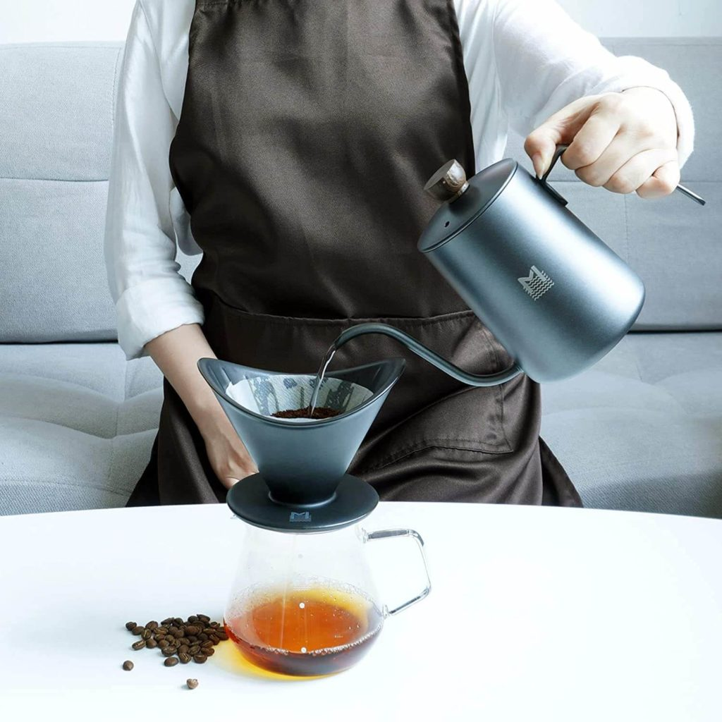Amazon: Coffee Dripper Pour Over Coffee Maker for $9.99 (Reg. $19.99)