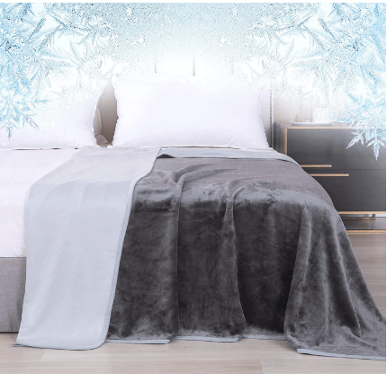 Amazon: Cooling Blanket for Hot Sleeper for only $29.5 (Reg $58.99)