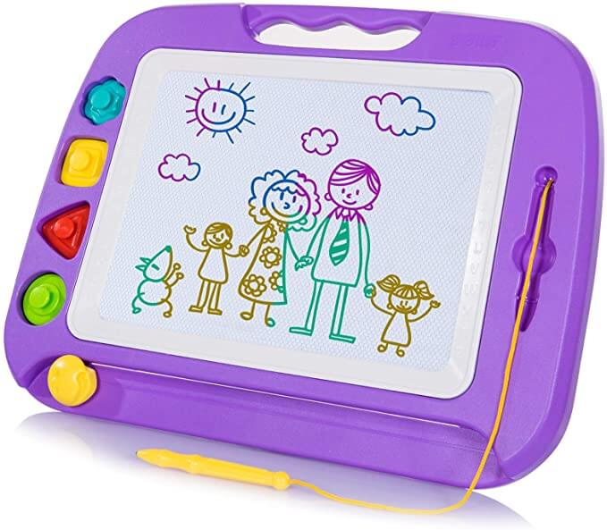 Amazon: Doodle Magnetic Drawing Board for Kids for $9.99 (Reg $20)