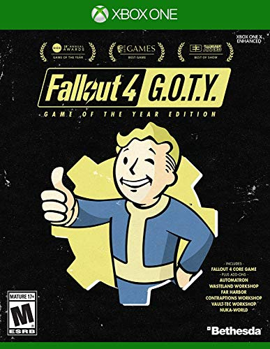 (Amazon) Fallout 4 Game of The Year Edition – Xbox One