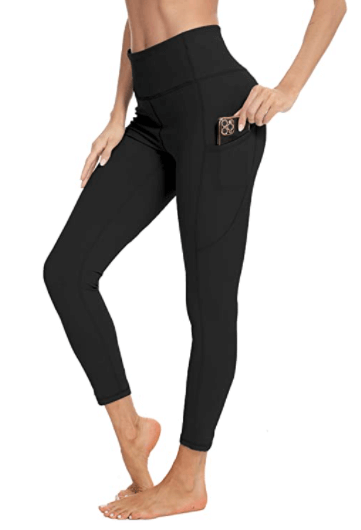 Amazon: High Waist Workout Leggings with Pockets for $9.99-$10.99 (Reg. $19.99-$21.99)