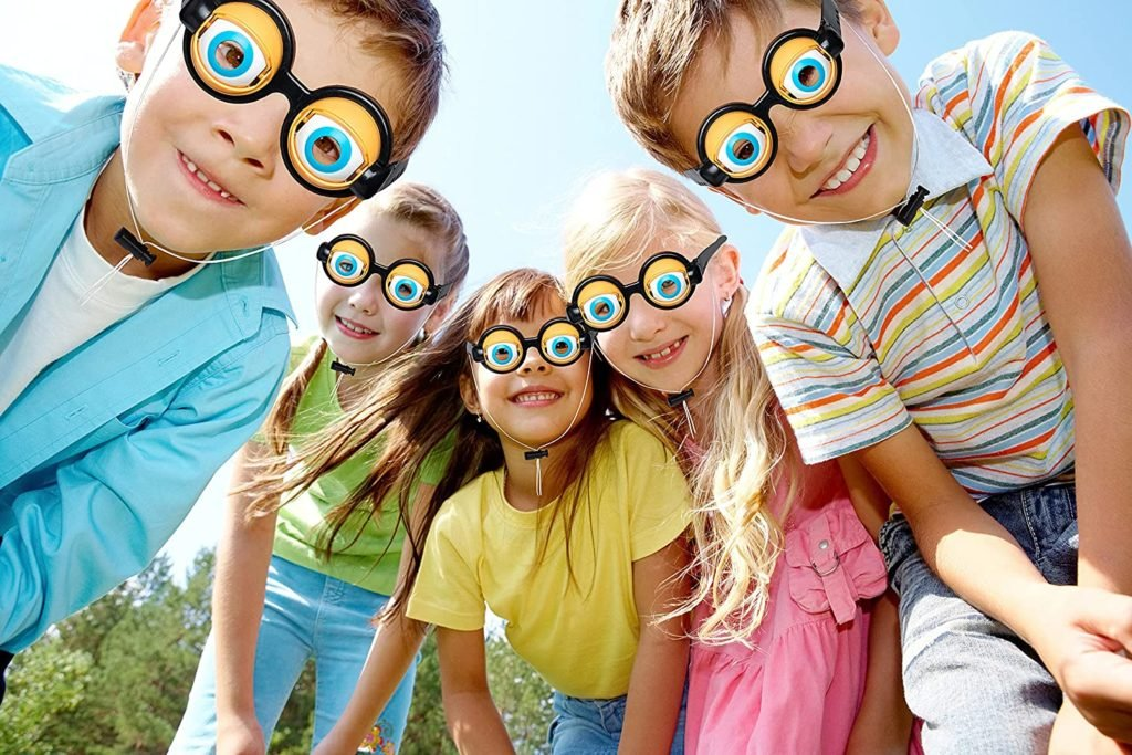 Amazon: Kids and Adult Funny Novelty Party Crazy Eyeglasses Toy for $9.50 (Reg. $18.99)
