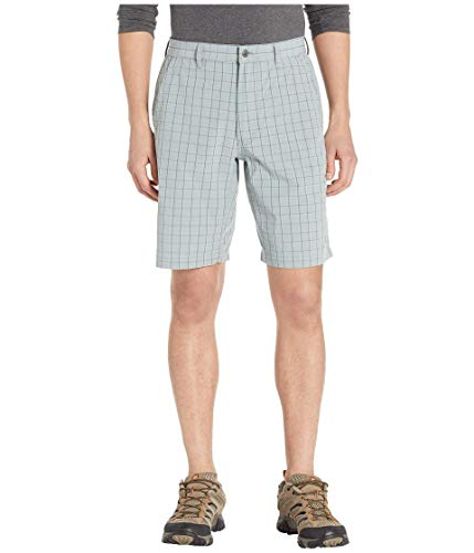 (Amazon) Mountain Khakis Mens Mulligan Short Classic Fit : Outdoor Casual Summer Shorts, Smoke Plaid, 30W 10In
