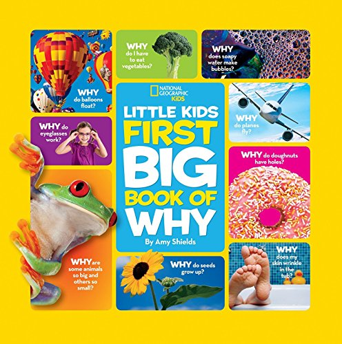 (Amazon) National Geographic Little Kids First Big Book of Why