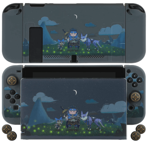 Amazon: Nintendo Switch Protective Case Cover with 4 Thumb Grips for $9.49 (Reg. $18.99)