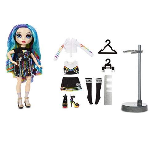 (Amazon) Rainbow High Amaya Raine – Rainbow Fashion Doll with 2 Complete Doll Outfits to Mix & Match and Doll Accessories, Great Gift for Kids 6-12 Years Old