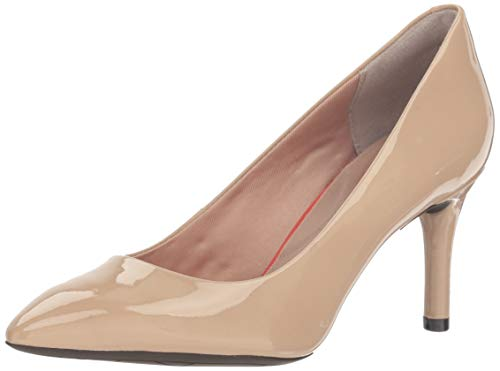 (Amazon) Rockport Women's Total Motion 75mm Pointy Pump,Warm Taupe,11 M