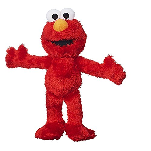 (Amazon) Sesame Street Mini Plush Elmo Doll: 10″ Elmo Toy for Toddlers and Preschoolers, Toy for 1 Year Old and Up