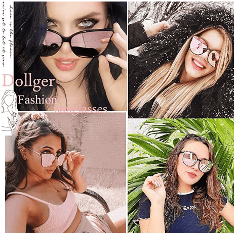 Amazon: Summer Gift for your Lover: Round Polarized Cat Eye Sunglasses $6.49-$8.49