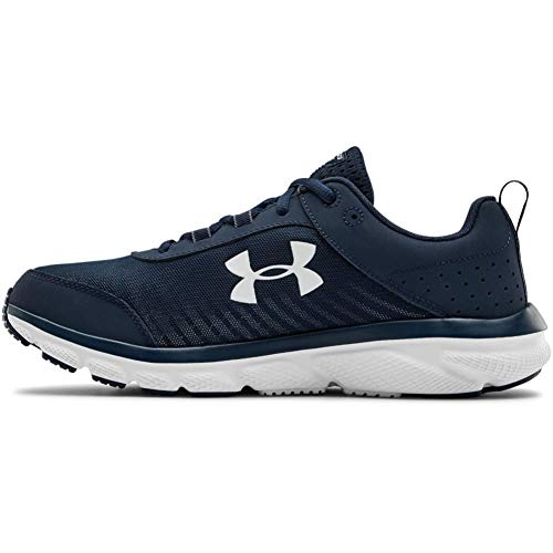 (Amazon) Under Armour mens Charged Assert 8 Running Shoe, Academy Blue (401 White, 11.5 US
