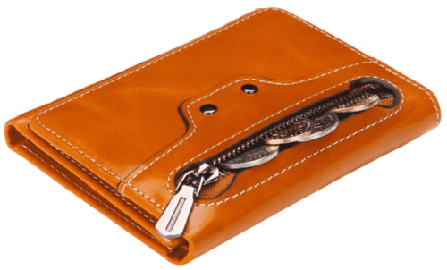 Amazon: Women's Small Leather Wallet for $7.95 (Reg. $19.89)