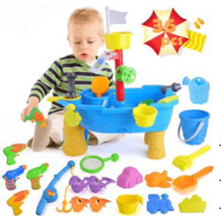 Amazon: unanscre 36Pcs Sand Water Table for Toddlers with Beach Sand Toys Just $13.49 (Reg. $26.99)