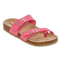Arizona Fairhaven Womens Adjustable Strap Footbed Sandals (JCPenney)