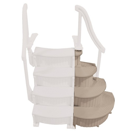 Confer – 3 Step Above Ground Pool Ladder Staircase Add On Only (Best Buy)