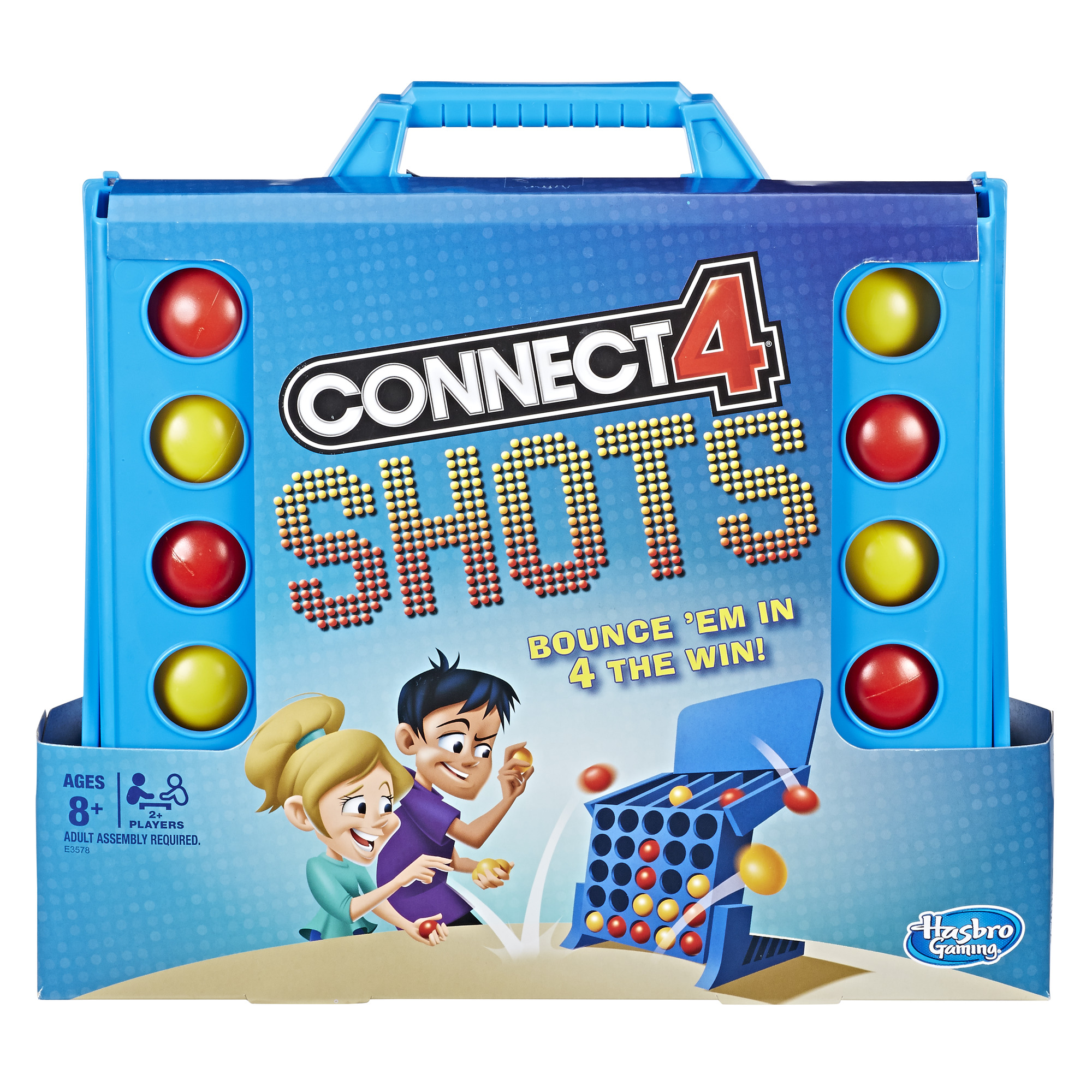 Connect 4 Shots Activity Game, Game for kids Ages 8 and up, for 2 or more players (Walmart)
