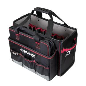 Husky 19 in. Pro Hybrid Tote with Tool Organizer (Home Depot)