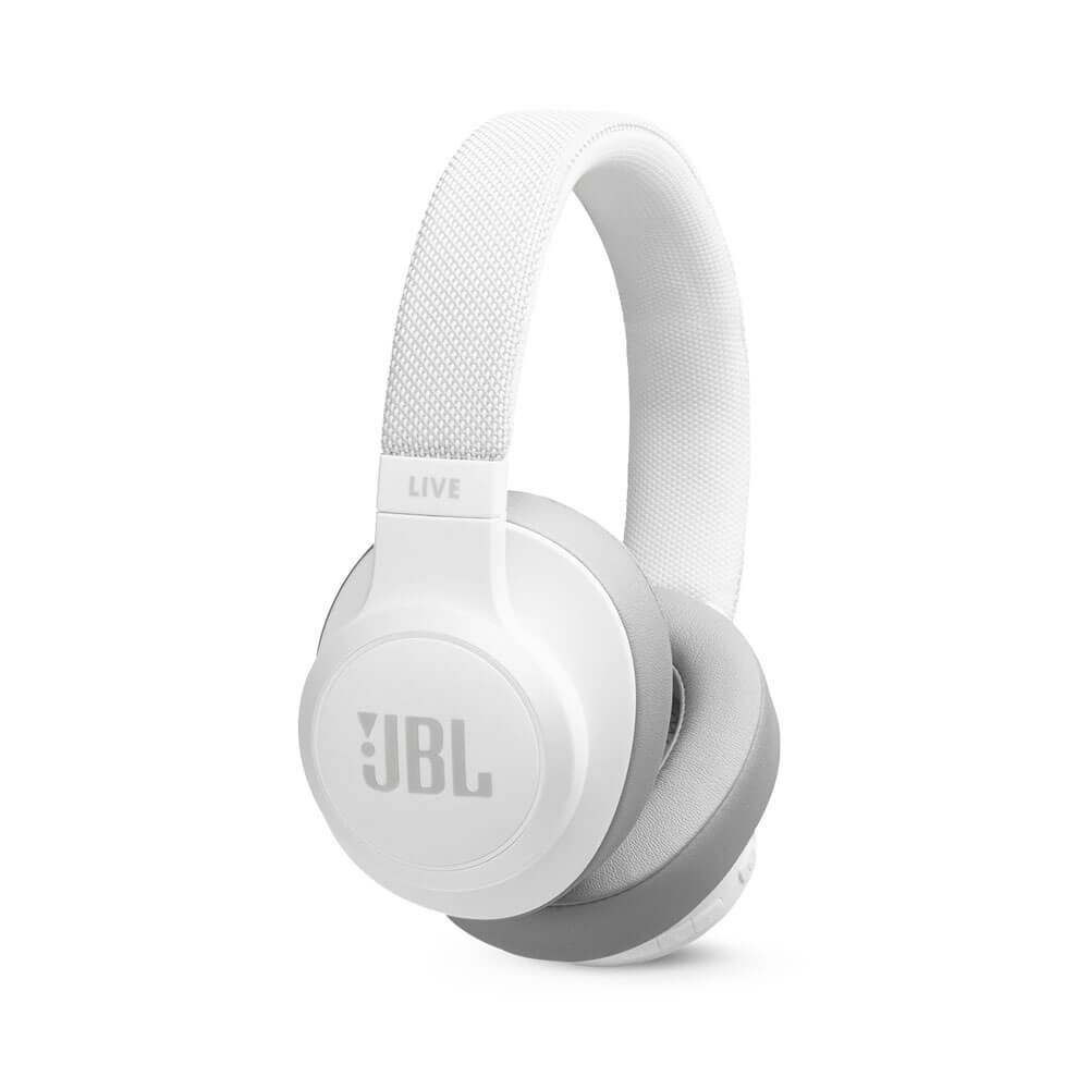 JBL Live 500BT On-Ear Wireless Headphones with Voice Assistant (White) (Walmart)