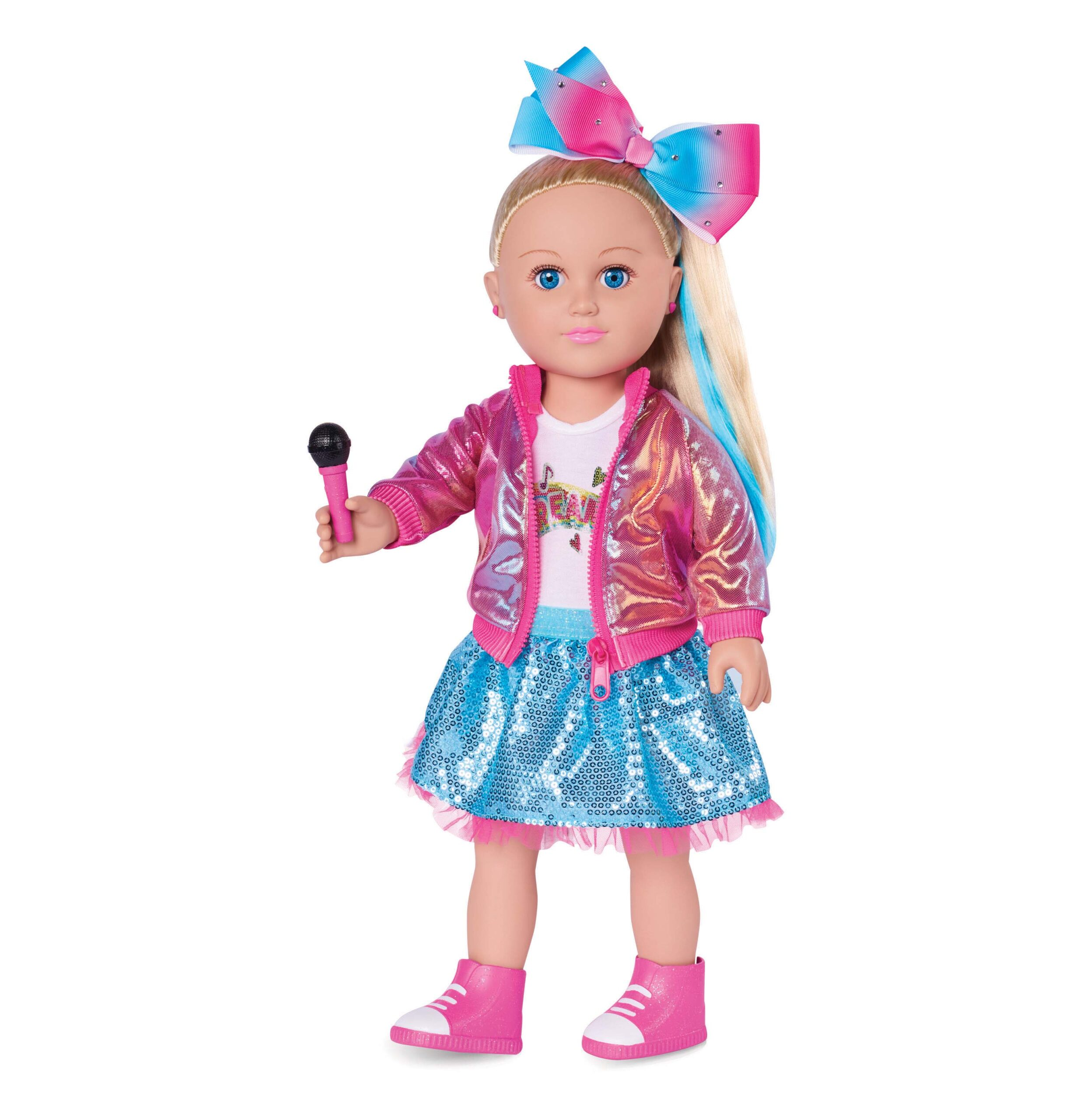 My Life As JoJo Siwa Doll, 18-inch Soft Torso Doll with Blonde Hair, Dance Party 2019 Release (Walmart)