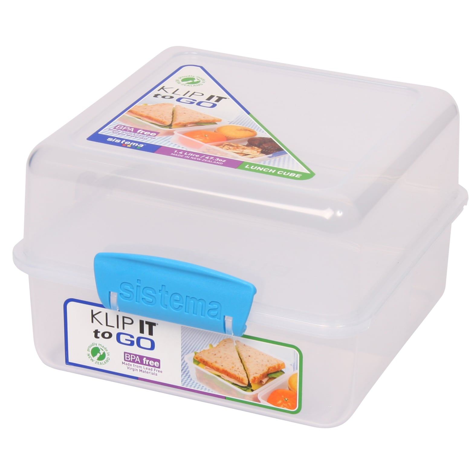 Rubbermaid Sistema Lunch Cube Food Container Pack (Walmart)