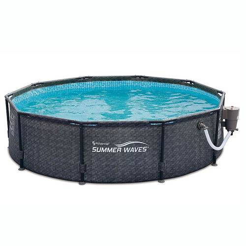 Summer Waves – 10ft x 30in Above Ground Frame Pool & Pump (Best Buy)