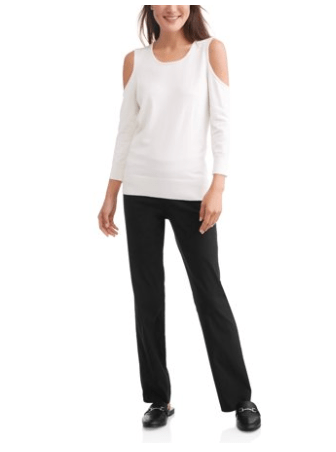 Time and Tru Women's Millenium Pull on Pant (Walmart)