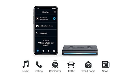 (Amazon) Echo Auto- Hands-free Alexa in your car with your phone
