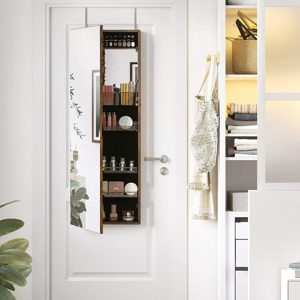 Amazon: Lockable Jewelry Cabinet Armoire JUST $68.72
