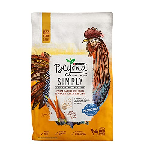 (Amazon) Purina Beyond Limited Ingredient, Natural Dry Dog Food, Simply White Meat Chicken & Barley Recipe – 3.7 lb. Bag