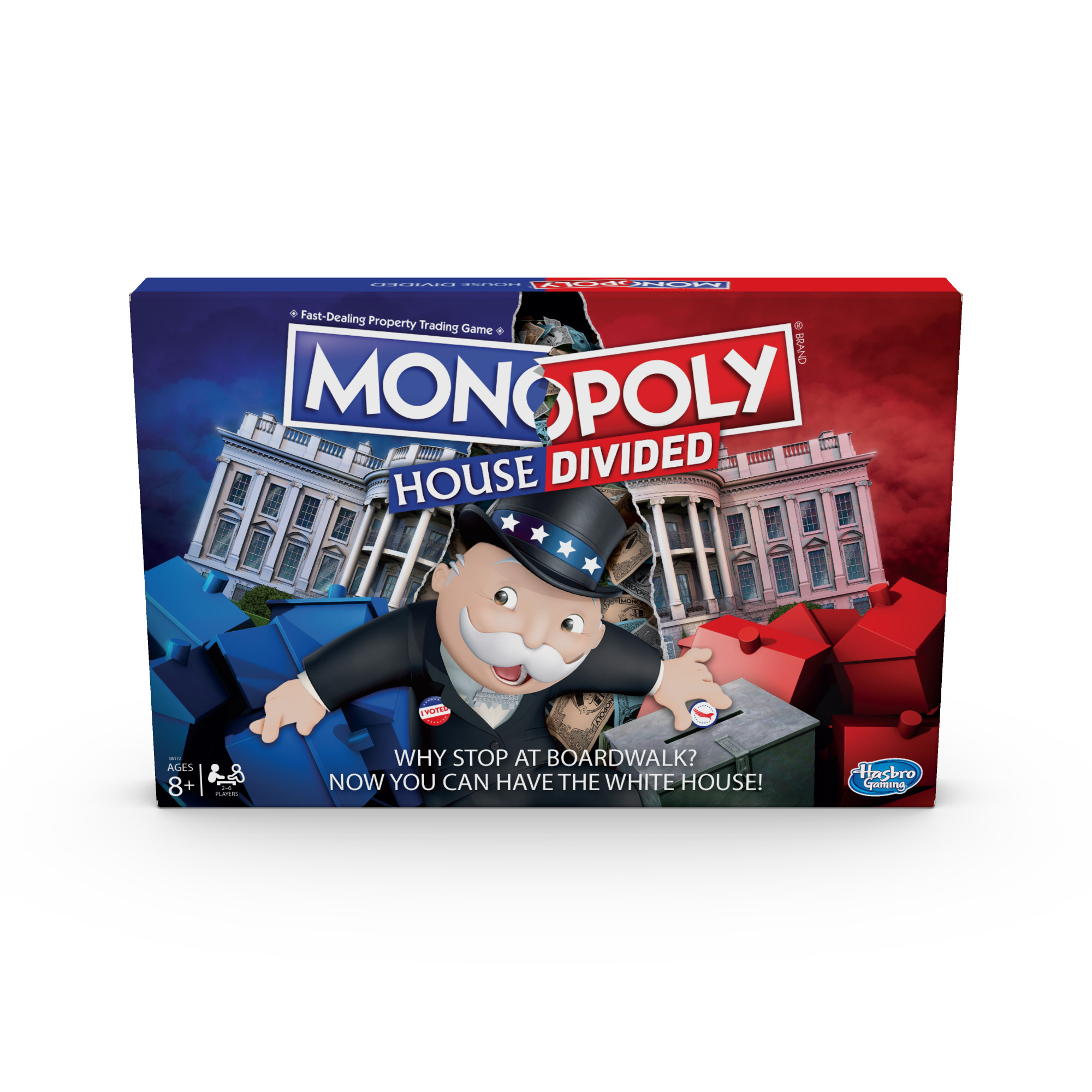 Monopoly House Divided Board Game: Elections, White House Themed Game, for Ages 8 and Up (Walmart)