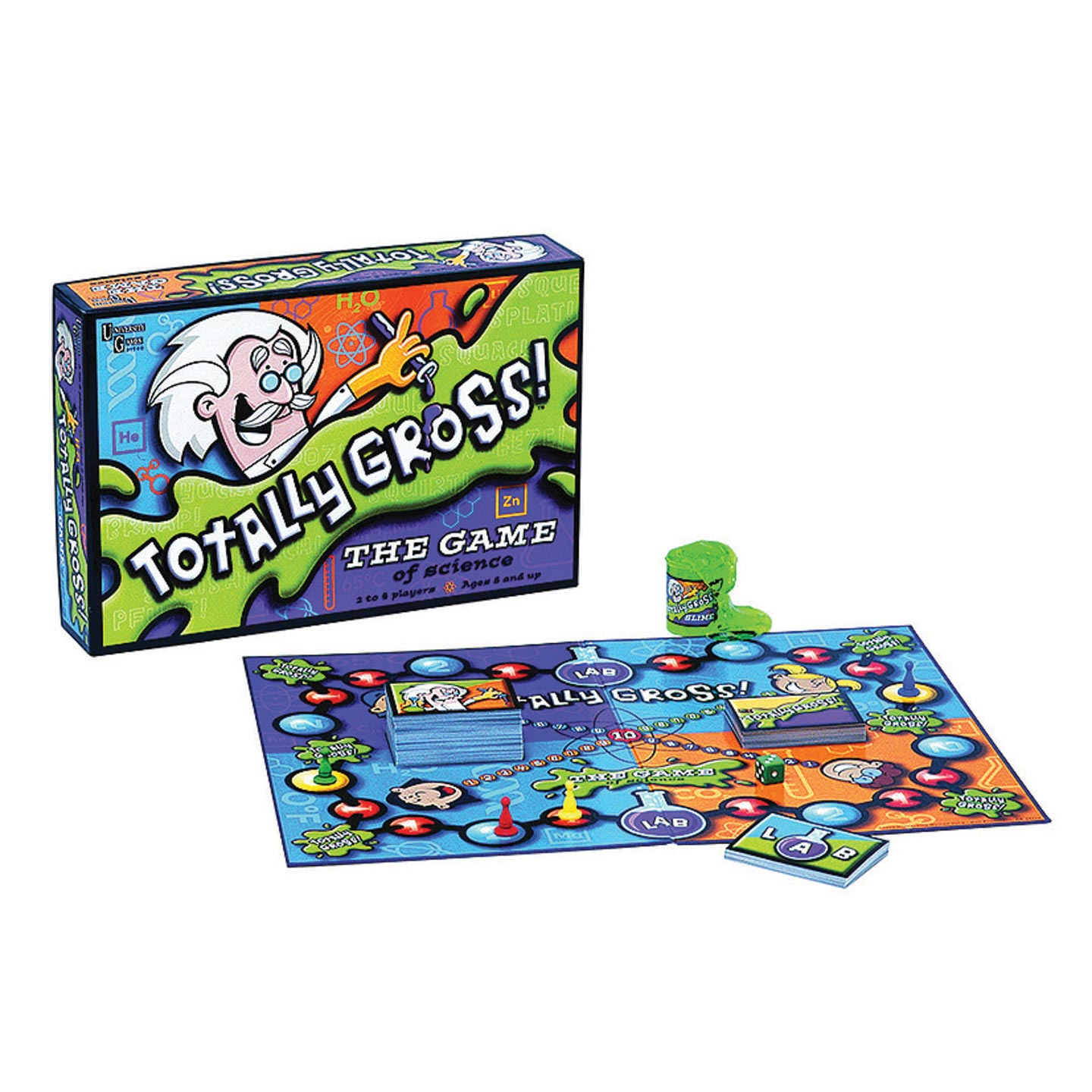 University Games Totally Gross! The Game of Science Learning Board Game (Walmart)
