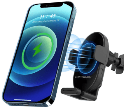 Amazon: 15W Qi Fast Auto-Clamping Wireless Car Charging Mount for $19.99 (Reg. $39.99)