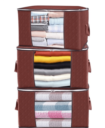 Amazon: Clothes Storage Bags 3 Pack for $11.33 (Reg $27)