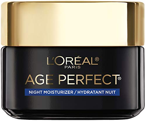 (Amazon) Face Moisturizer, L'Oreal Paris Age Perfect Cell Renewal Skin Renewing Night Cream Moisturizer with Salicylic Acid, Stimulates Surface Cell Turnover for Visibly Radiant Skin, 1.7 oz.