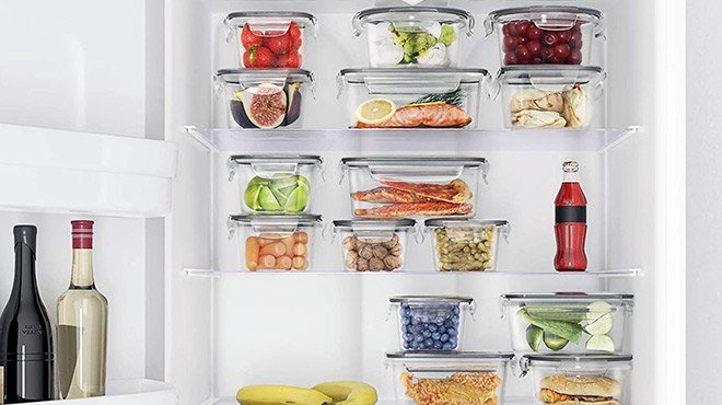 Amazon: Food Storage Containers Set 32-Piece Set (with Chalkboard Labels & Marker) ONLY $28.87 (Reg $40) + FREE Shipping
