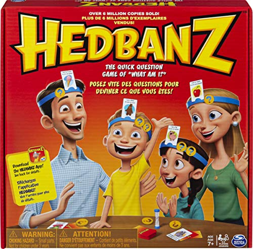 (Amazon) Hedbanz, Quick Question Family Guessing Game for Kids and Adults (Edition May Vary)