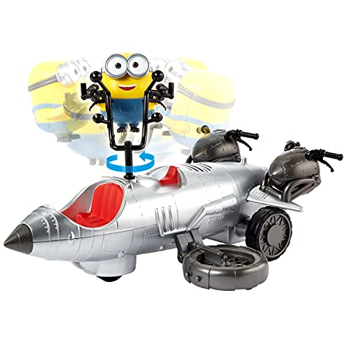(Amazon) Minions: ld Rider Remote Control Vehicle Bob Action Figure, Makes a Great Gift for Kids 4 Years and Older