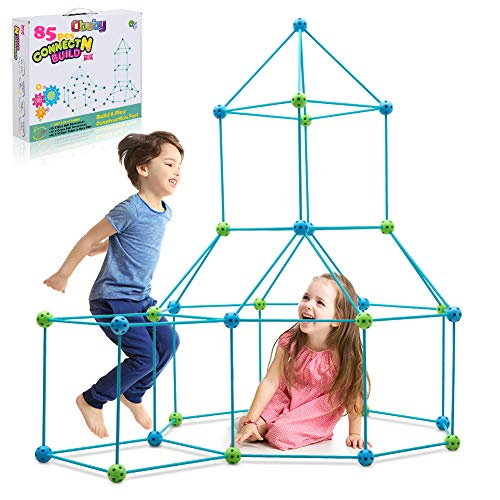 (Amazon) Obuby Kids Fort Building Kit Construction STEM Toys for 5 6 7 8 9 10 11 12 Years Old Boys and Girls Ultimate Forts Builder Gift Build DIY Building Educational Learning Toy for Indoor & Outdoor