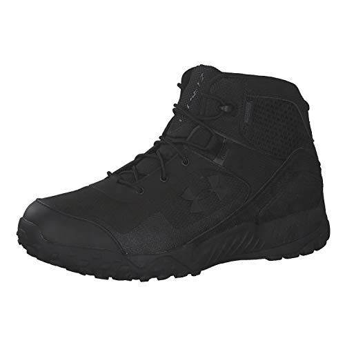 (Amazon) Under Armour Men's Valsetz RTS 1.5 5-inch Waterproof Military and Tactical Boot, Black (001)/Black, 11