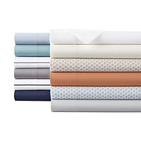 Home Expressions 220 Thread Count Cotton Percale Sheet Set (JCPenney)