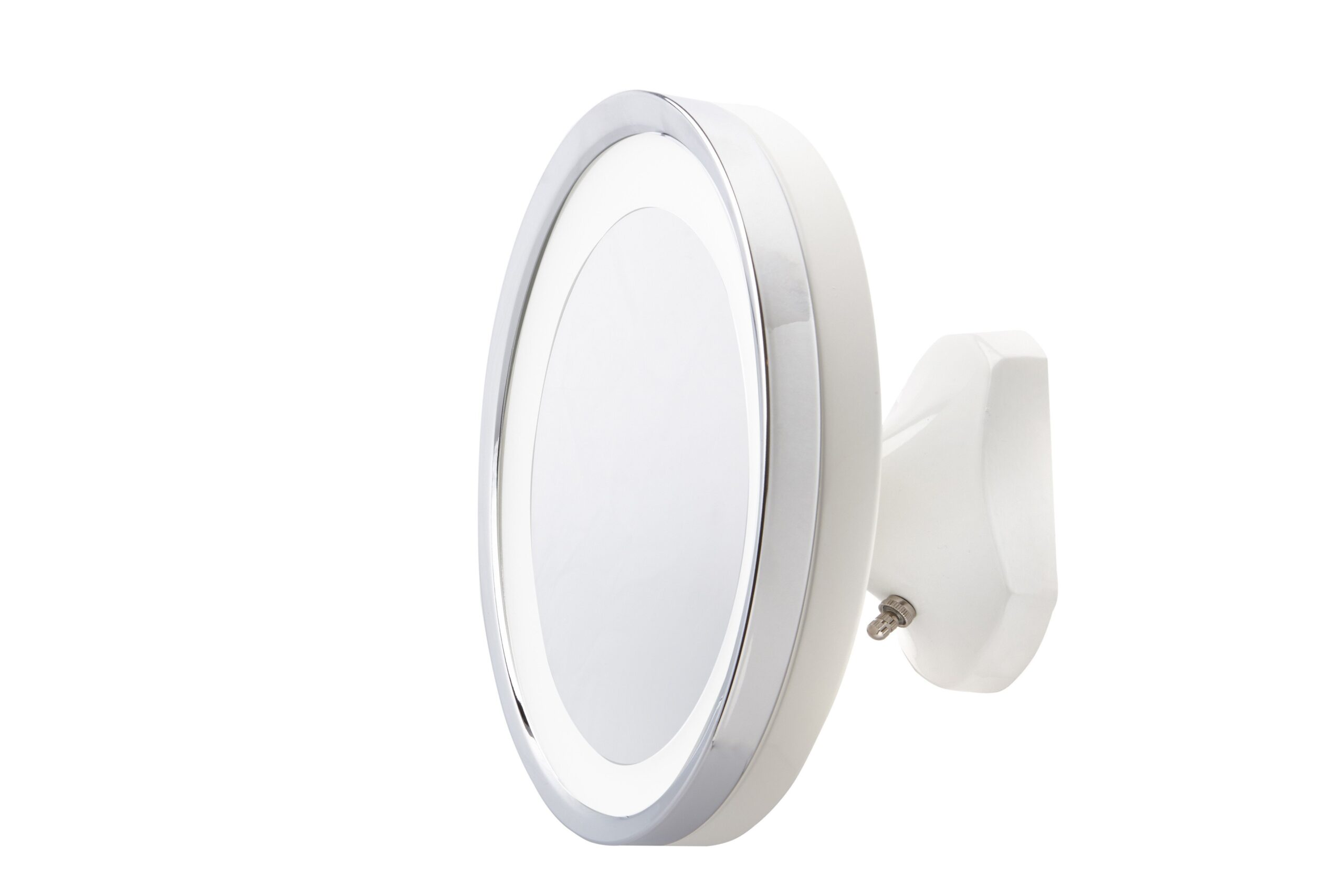 Jerdon HL95WL 5X LED Lighted Wall Mount Mirror, Direct Wire (Walmart)