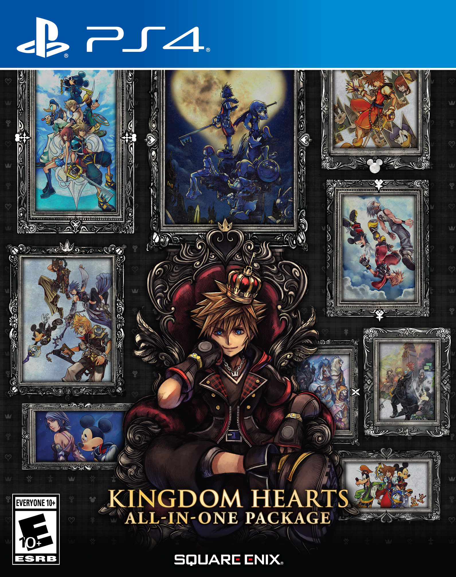 KINGDOM HEARTS All-in-One Package, Square Enix, PlayStation 4, 662248923789 (Walmart)