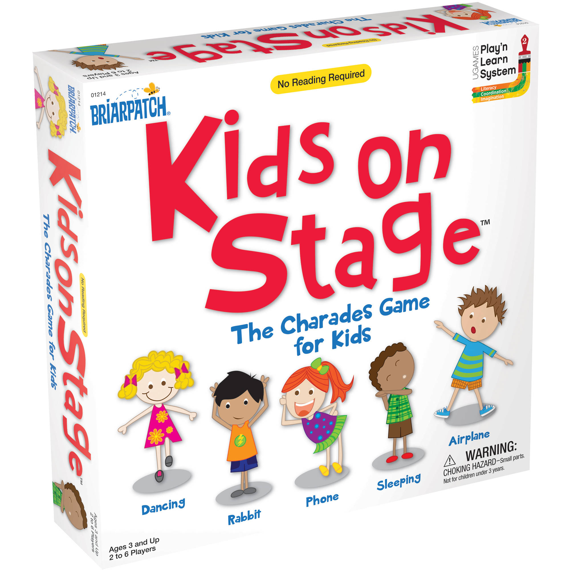 Kids On Stage – The Charades Game For Kids (Walmart)